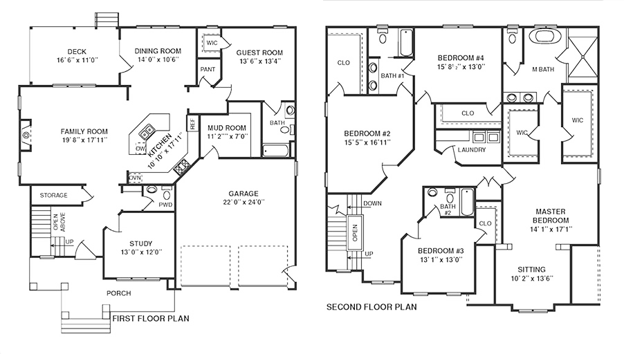FloorPlans for South Rivers' belgrade