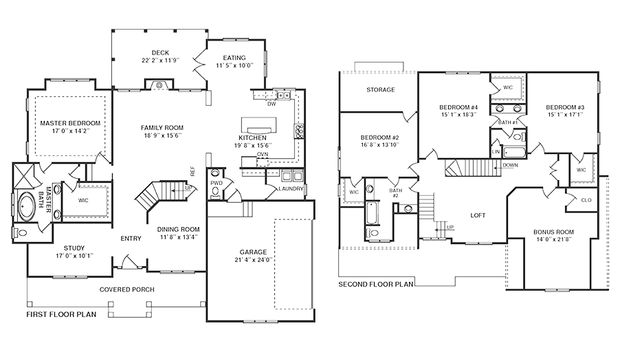 FloorPlans for bonair